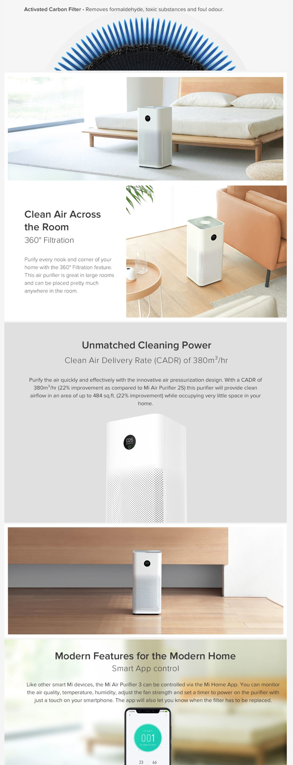 Xiaomi Mi Air Purifier 3h 2