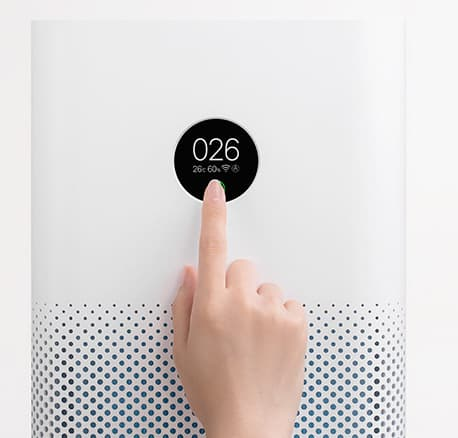 Xiaomi Mi Air Purifier 3h Oled Touch Display