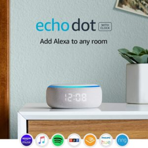 Echo Dot (3rd Generation) Smart Speaker With Clock And Alexa 1